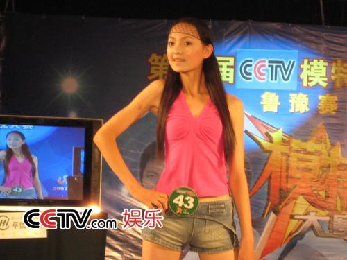 图:第八届cctv模特大赛 山东赛区选秀 - 4-搜狐娱乐
