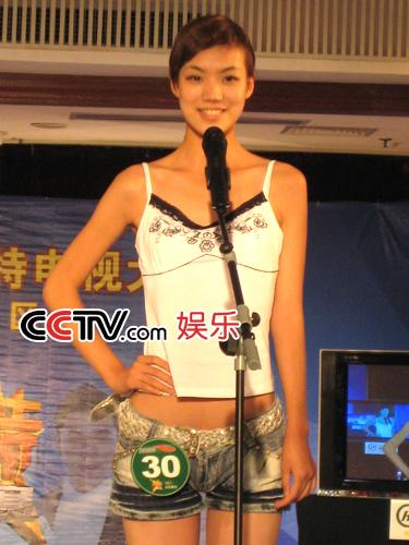 图:第八届CCTV模特大赛 山东赛区选秀 - 6