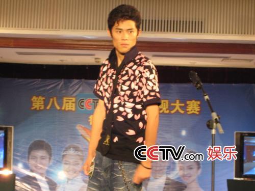图:第八届CCTV模特大赛 山东赛区选秀 - 9