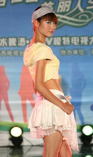 图:第八届CCTV模特大赛 南宁赛区选秀 - 18