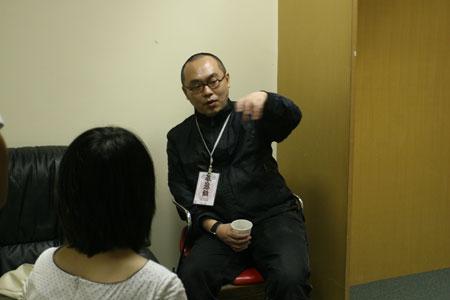 胡恩威接受搜狐访谈