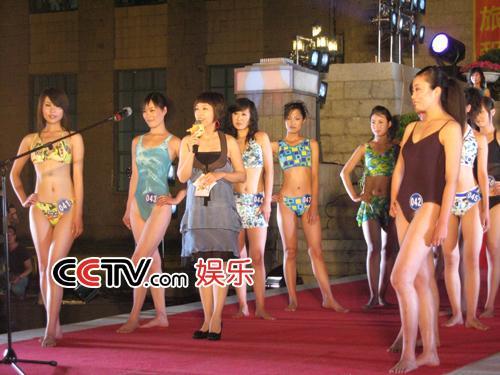 图:第八届CCTV模特大赛 东北赛区选秀 - 2