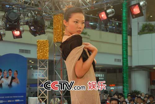 图:第八届CCTV模特大赛 湖北赛区选秀 - 3