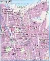 图文:2007亚洲杯举办城市 雅加达地图