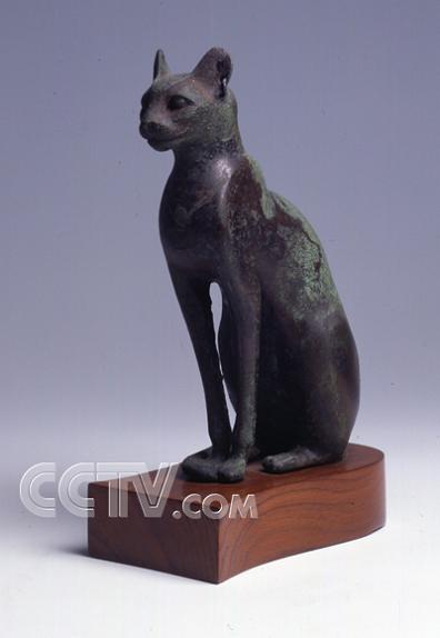 在古埃及文化中母猫一般都代表多个善良的女神图片