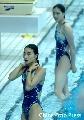 图文:跳水奥运选拔赛首日 晶霞芙蓉半出水
