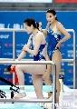 图文:跳水奥运选拔赛首日 郭晶晶回眸一笑
