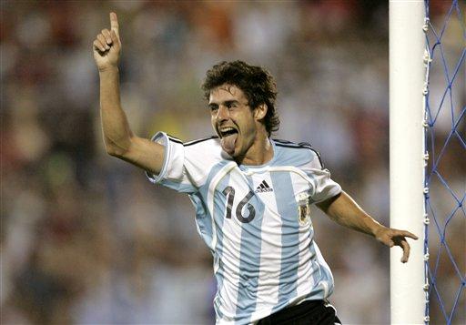 图文:阿根廷4-1美国 艾马尔再展风采