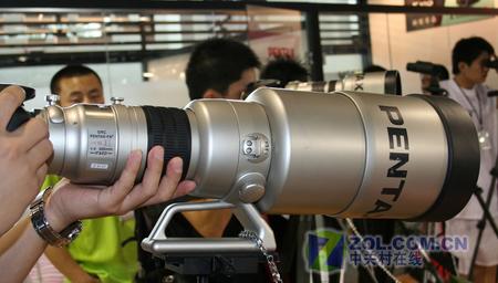 P&E2007 百年历史宾得 新镜头亮相