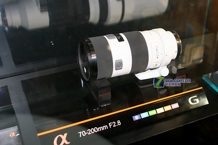 P&E2007:索尼全系列镜头 长枪短炮云集