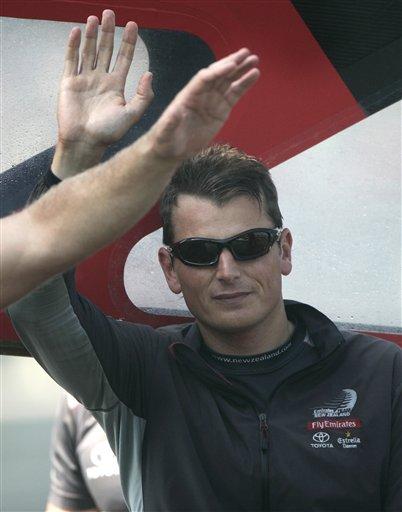 美洲杯帆船赛 决赛 图文 船长/图文:美洲杯帆船赛决赛第5战酋长船长致谢