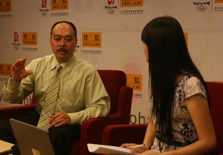 卢伟琦表示北京廉租房市场的发展政府是关键部分