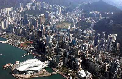 以往打赌香港失败的人从没有赢过,这点至今未变。新华社资料