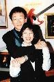 图:杨德昌和第一任妻子蔡琴合影