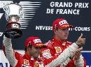 图文:F1法国站正赛 马萨夺取亚军