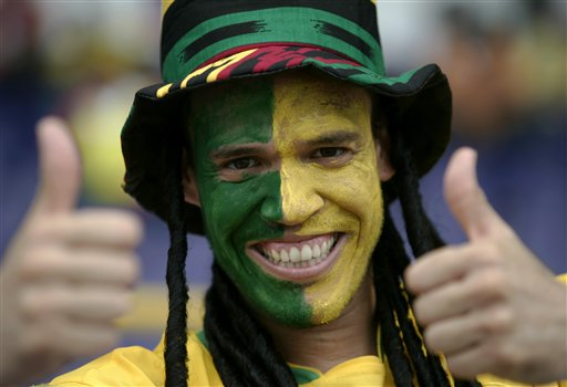狂热的巴西球迷