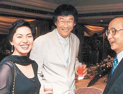杨德昌(右)与蔡琴相恋、成家、离婚,都是当年台湾娱乐圈大事