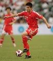 图文:回归杯国足2-0世界联队 孙祥恢复状态