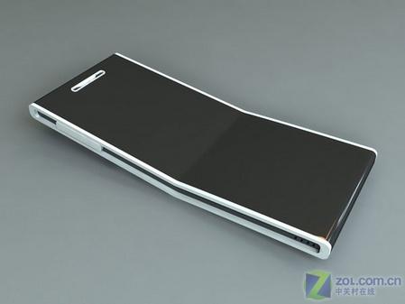 超薄大屏幕指纹识别 精致概念手机亮相