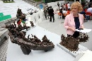 图文:2008奥运景观雕塑巡展 作品《奥神西来》