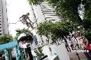 图文:2008奥运景观雕塑巡展 陈列作品《冲刺》