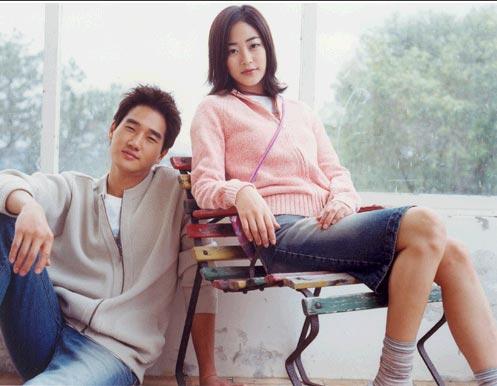 刘智泰和金孝珍因2003年共同拍摄服饰目录而相识