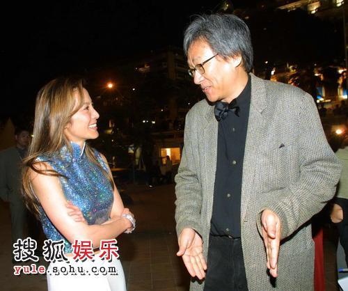 与杨紫琼亮相戛纳电影节