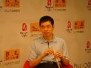 图文:[围棋]马晓春做客搜狐 分析小李强势原因