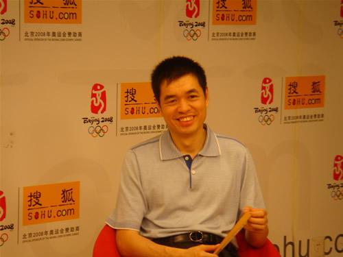 图文:[围棋]马晓春做客搜狐 对年轻棋手很乐观