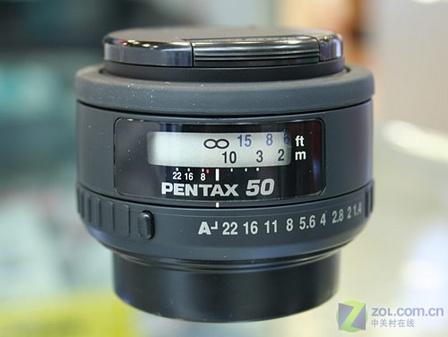 人像摄影好选择 宾得50mmF1.4镜头到货