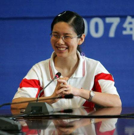2007年北京高考理科第一名林茜。