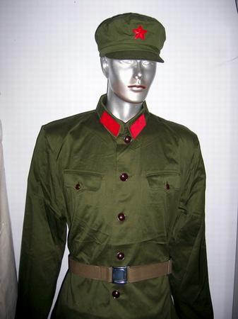 65式陆军军服-总后勤部专家介绍解放军换发的6种主要制式军服