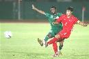 图文:[亚洲杯]热身沙特-朝鲜 阿里穆萨阻止射门