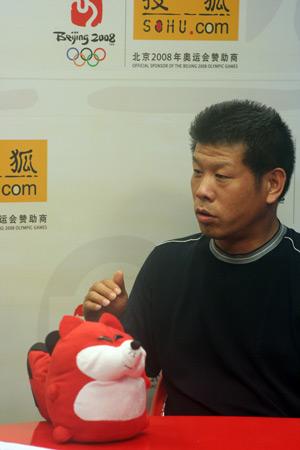 图文:搜狐专访老火炬手之子 那和利回答