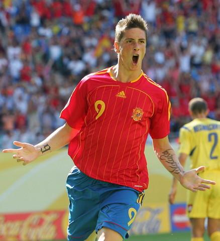 图文:托雷斯马竞生涯回顾 世界杯战乌克兰进球