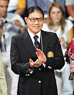 香港奥委会主席霍震霆