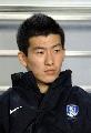 图文:07亚洲杯韩国队阵容 27号前卫吴正恩