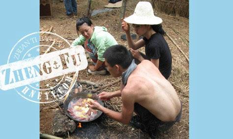 雷公岛第一天:黑虎部落的午餐