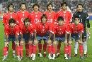 组图:2007亚洲杯16强全家福 D组韩国23将全接触