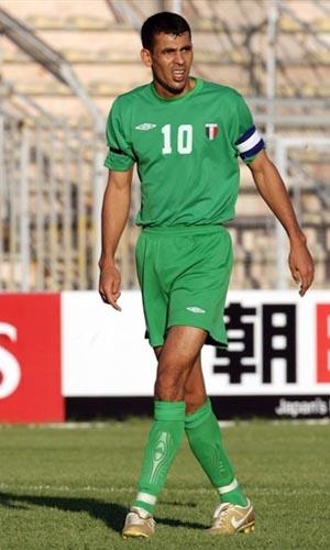图文:07亚洲杯伊拉克队阵容 10号前锋尤尼斯