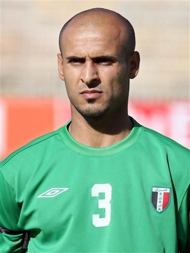 图文:07亚洲杯伊拉克队阵容 3号后卫阿巴斯