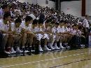 图文:NBA夏季联赛男篮负灰熊 男篮排排坐