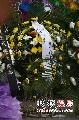 侯耀文追悼会现场 六小龄童送来花圈悼念