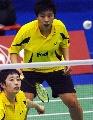 图文:泰国羽毛球公开赛 于洋/杜婧晋级决赛