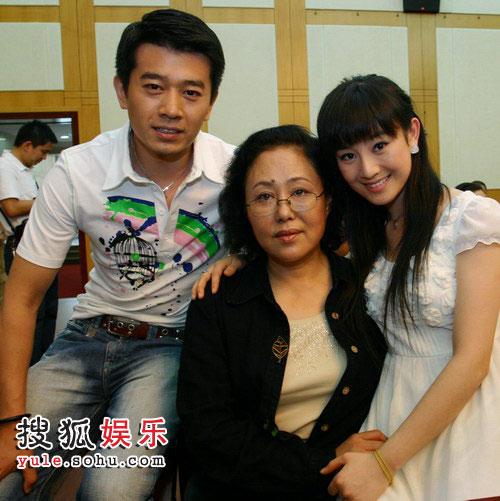 侯祥玲、张檬和斯琴高娃