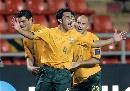 图文:[亚洲杯]澳洲1-1阿曼 卡希尔补时扳平