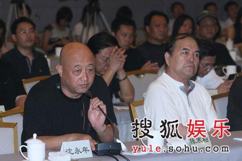 陈寒柏代表众弟子发言