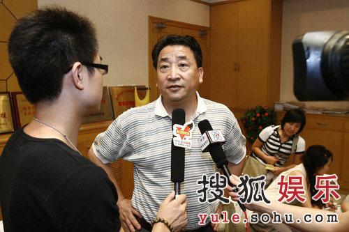姜昆接受搜狐专访