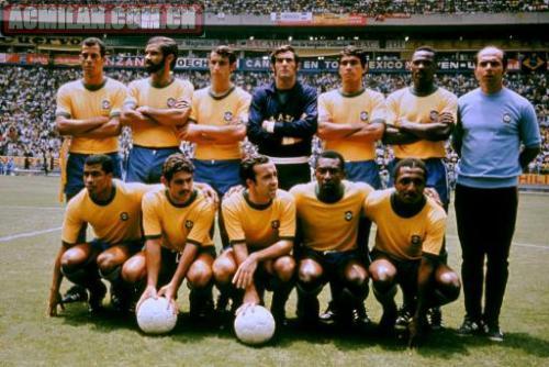 1970年世界杯冠军队合影