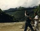 经典人文地理--1997郝跃骏在马帮拍摄现场